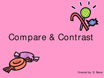 Essay Lab How to Write a Compare-and-Contrast Essay